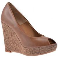 Zapatos Mujer Zapatillas altas Nobrand  Marrón