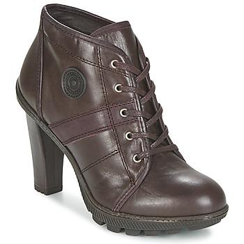 Zapatos Mujer Botines Pataugas FURBY/N Chocolate