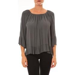 textil Mujer Tops / Blusas La Vitrine De La Mode By La Vitrine Blouse Giulia anthracite Gris
