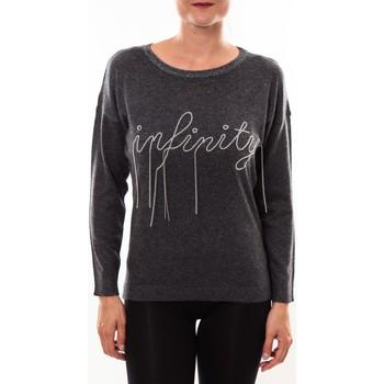 textil Mujer Jerséis Barcelona Moda Pull 71035206 anthracite Gris