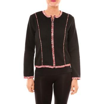 textil Mujer Chaquetas / Americana Bamboo's Fashion Veste BW667 noir Negro