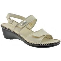 Zapatos Mujer Sandalias Susimoda  Beige