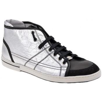 Zapatos Hombre Zapatillas altas OXS  Plata