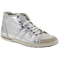 Zapatos Mujer Zapatillas altas OXS  Plata