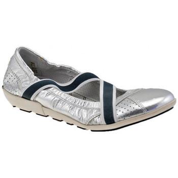 Zapatos Mujer Bailarinas-manoletinas OXS  Plata