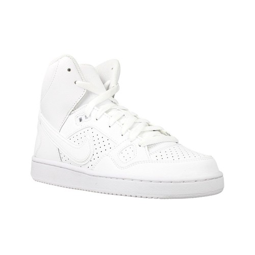 Zapatos Niños Zapatillas altas Nike Son OF Force Mid GS Blanco
