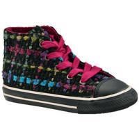 Zapatos Niños Zapatillas altas Converse  Negro