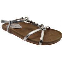 Zapatos Mujer Sandalias Gardini  Plata