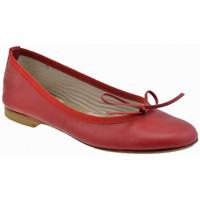 Zapatos Mujer Bailarinas-manoletinas Keys  Rojo