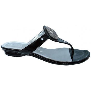 Zapatos Mujer Chanclas Keys  Negro