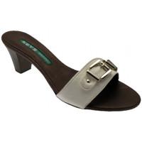 Zapatos Mujer Zuecos (Mules) Keys  Blanco