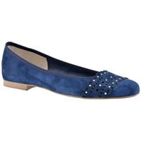 Zapatos Mujer Bailarinas-manoletinas Keys  Azul