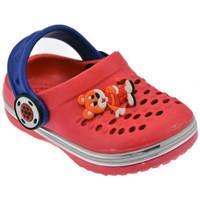 Zapatos Niños Zuecos (Clogs) De Fonseca  Rojo