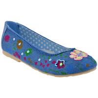 Zapatos Niños Bailarinas-manoletinas Lulu  Azul