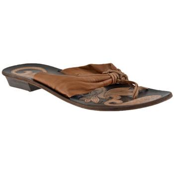 Zapatos Mujer Chanclas Progetto  Beige