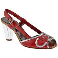 Zapatos Mujer Sandalias Progetto  Rojo