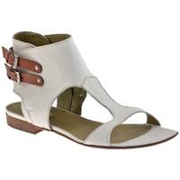 Zapatos Mujer Sandalias Progetto  Blanco