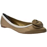 Zapatos Mujer Bailarinas-manoletinas Progetto  Beige