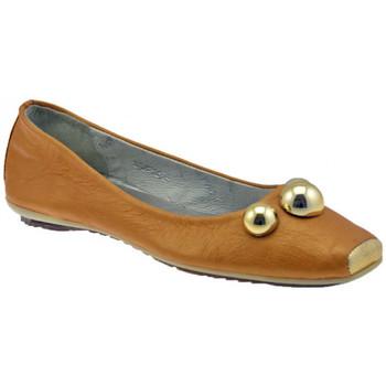 Zapatos Mujer Bailarinas-manoletinas Lea Foscati  Beige