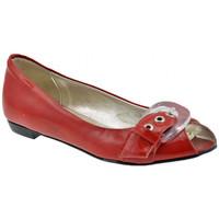 Zapatos Mujer Bailarinas-manoletinas Lea Foscati  Rojo