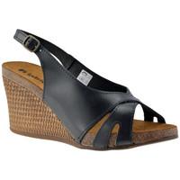 Zapatos Mujer Sandalias Inblu  Negro