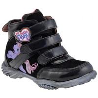 Zapatos Niños Zapatillas altas Dessins Animés  Negro