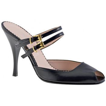 Zapatos Mujer Zuecos (Clogs) Charlize Italia  Negro