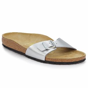 Zapatos Mujer Zuecos (Mules) Birkenstock MADRID Plateado
