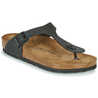 Zapatos Mujer Chanclas Birkenstock GIZEH Negro