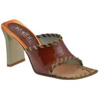 Zapatos Mujer Sandalias Nci  Marrón