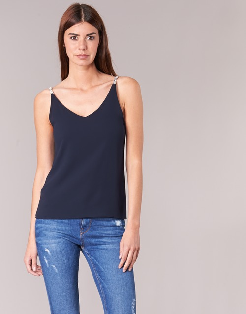 textil Mujer Tops / Blusas Betty London EVOUSA Marino