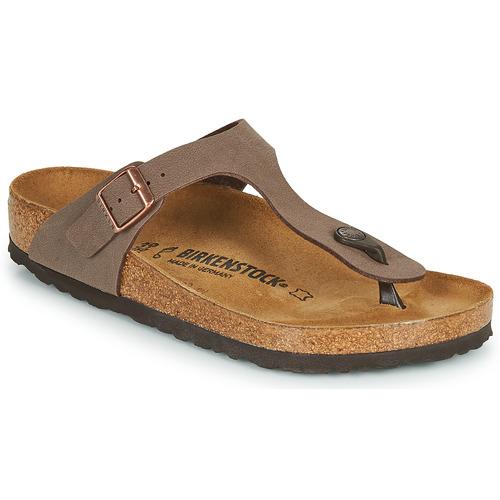 Birkenstock GIZEH Marrón - Envío gratis | ! - Zapatos Chanclas Mujer