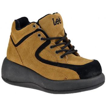 Zapatos Mujer Zapatillas altas Lee  Beige