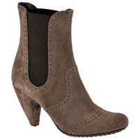 Zapatos Mujer Botines Ssamzie  Marrón