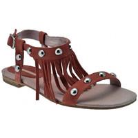 Zapatos Mujer Sandalias Donna Loka  Rosa