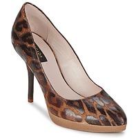 Zapatos Mujer Zapatos de tacón Escada AS701 Marrón / Leopardo
