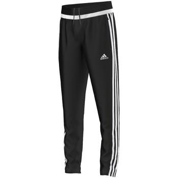 textil Niño Pantalones de chándal adidas Performance tiro15 Training Pant Jr BLACK / WHITE / BLACK