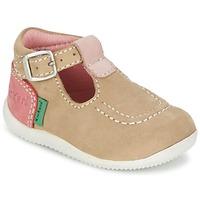 Zapatos Niña Bailarinas-manoletinas Kickers BONBEK Beige
