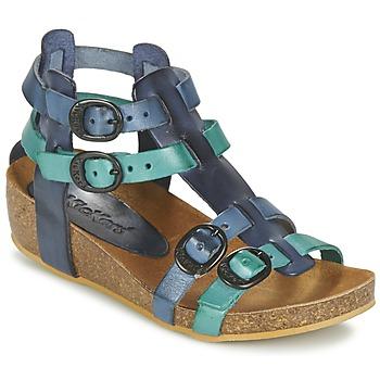 Zapatos Niña Sandalias Kickers BOMDIA Azul