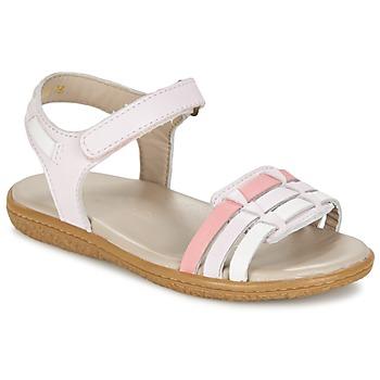 Zapatos Niña Sandalias Kickers VELOZ Rosa