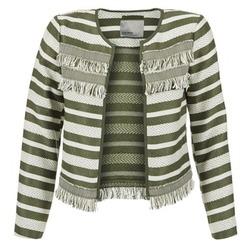 textil Mujer Chaquetas / Americana Vero Moda FRILL Kaki / Crudo
