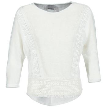 textil Mujer Camisetas manga larga Vero Moda MYBELLA Blanco