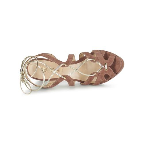 Fericelli Baiola Zapatos Nude Mujer Sandalias UpMSqzVG