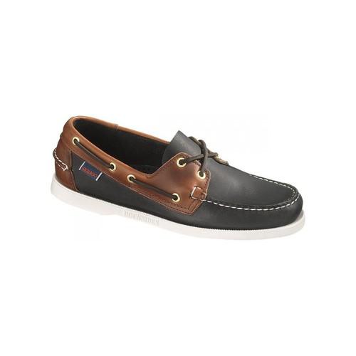 Venta de liquidación de temporada Sebago Bateau  Spinnaker Leather Negro - Zapatos Zapatos náuticos Hombre  Negro