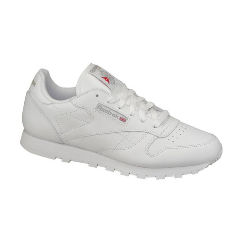 Zapatos Mujer Zapatillas bajas Reebok Sport Classic Leather 50151 Blanc
