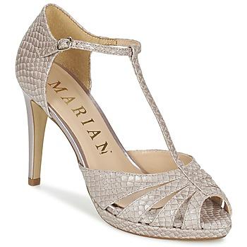 Zapatos Mujer Sandalias Marian CHANVRO Beige / Serpiente