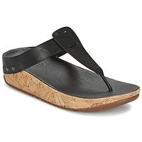 Zapatos Mujer Chanclas FitFlop IBIZA CORK Negro