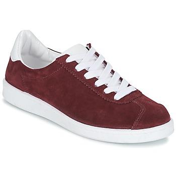 Zapatos Mujer Zapatillas bajas Yurban EMARTI Burdeo
