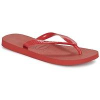 Zapatos Chanclas Havaianas TOP Rubí / Rojo