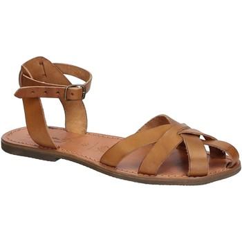 Zapatos Mujer Sandalias Gianluca - L'artigiano Del Cuoio 503 D CUOIO GOMMA Cuoio